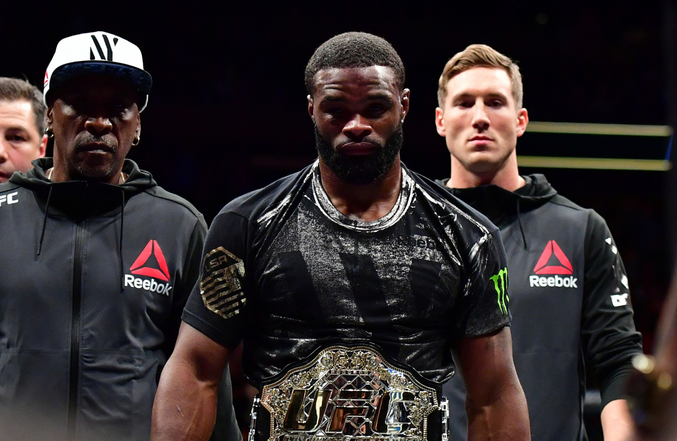 Welterweight champion Tyron Woodley