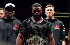 Welterweight champion invites McGregor to challenge for third UFC belt