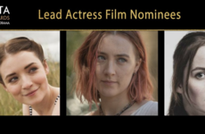 These are the nominations for this year's IFTA awards