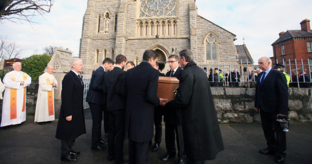 Funeral hears tributes to Peter Sutherland's 'countless hidden acts of generosity'