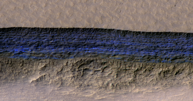 Scientists have discovered glaciers buried deep on the surface of Mars