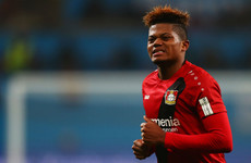 Leverkusen admit Man United, Chelsea and Arsenal target Bailey could be sold