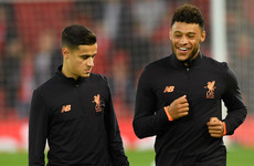 'We still have amazing players' - Oxlade-Chamberlain confident Coutinho exit won't derail Liverpool