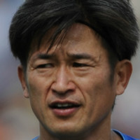 A Japanese footballing legend wants to retire in 9 years' time - when he turns 60