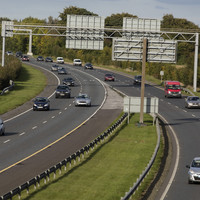 Drivers on the M7 are being urged to slow down - until 2020