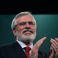 Gerry Adams has advertised the leadership job he has held for 35 years