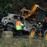 Bodies found in burnt-out car near Dundalk not yet identified