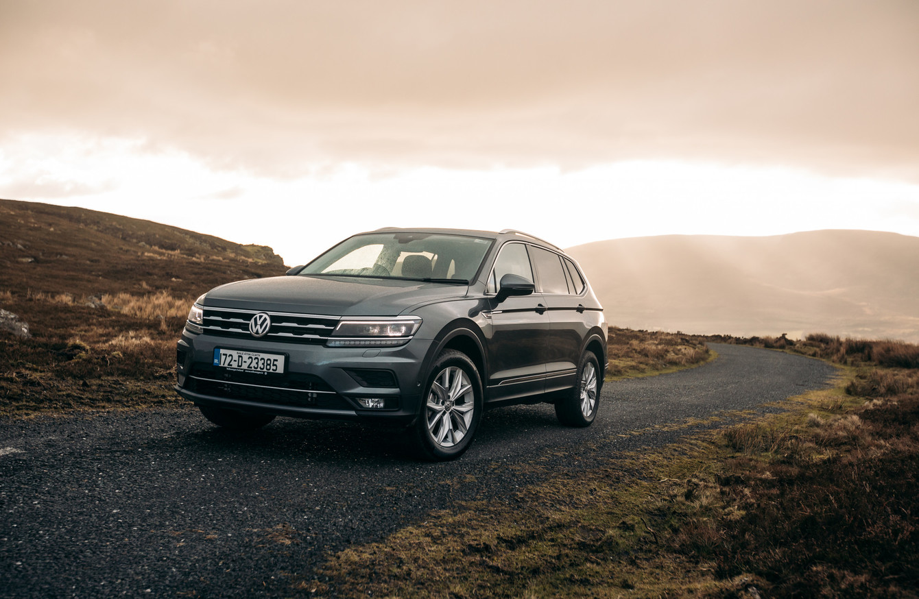Review Can The Volkswagen Tiguan Allspace Outdo All Conquering Vw Engine Parts Diagram We Take New Seven Seater For A Test Drive