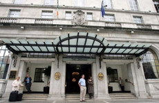 The number of homeless families staying in hotels in Dublin has shot up once again
