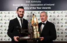 More success for double-winners as Cork City duo scoop SWAI gongs