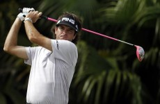 Bubba does things his way at Doral as Rory struggles