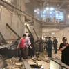 At least 75 people injured after floor at Indonesia's stock exchange collapses