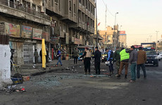 At least 26 killed in Baghdad twin suicide blast