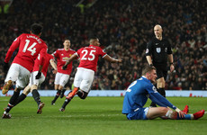 As it happened: Manchester United v Stoke City, Premier League