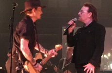 Johnny Depp dueted with Bono at Shane McGowan's big birthday gig last night