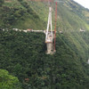 Nine workers dead after 450m-long bridge collapses in Colombian valley