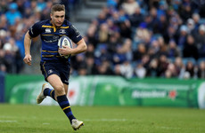 Larmour set to be included in Joe Schmidt's Six Nations squad