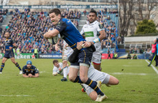 Sexton good to go as Leinster report clean bill of health post-Glasgow