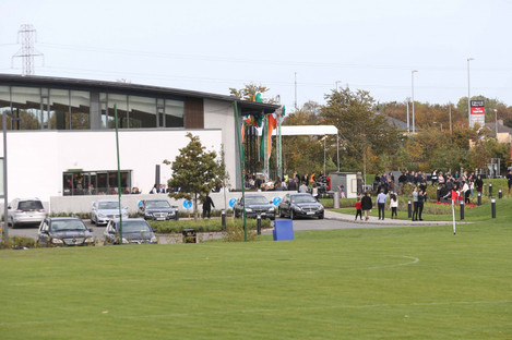 A protest in October of last year held at the new European base for Scientology based at Firhouse in Dublin. Now locals in Ballivor have raised concerns the movement is opening a centre in their village.