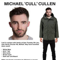 Police 'increasingly concerned' for the welfare of missing Michael Cullen