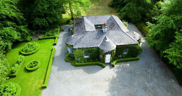 Vine-clad Victorian gate lodge in the countryside going for €350k