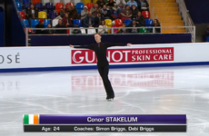 Conor Stakelum becomes first Irish man ever to skate at European Championships