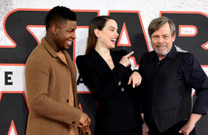 Men's rights activists edited Star Wars: The Last Jedi to remove the female characters and the cast reacted brilliantly