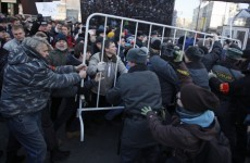 More than 20,000 gather for anti-Putin protest