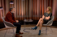 Tommy Tiernan's interview with Sharon Horgan was a bit awkward last night