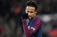 'Disgraceful' PSG fans criticised after Neymar boos