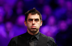 'I've got double-vision, I'm dizzy and I'm struggling' - Ronnie O'Sullivan dumped out of Masters