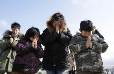 Silence and prayers mark anniversary of Japanese tsunami