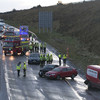 13 cars involved in multiple collisions in a hailstorm on the M7 in Tipperary