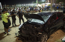Baby killed and 17 injured as car ploughs into crowds in Rio de Janeiro