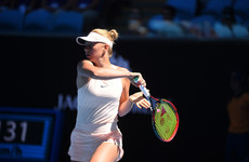 Teen sensation bows out of Australian Open with lesson from 'god'