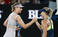 Kerber downs Sharapova in Melbourne masterclass
