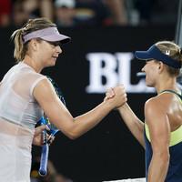 Kerber downs Sharapova in Melbourne masterclass
