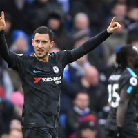 Hazard dazzles with brace as Conte's men get back on track with four-goal win