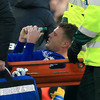 Sad scenes as Ireland's James McCarthy stretchered off with double leg fracture