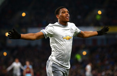 Second-half Martial goal gets Man United over the line at Burnley