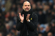 Guardiola salutes 'outstanding' Man City after 21st Premier League win