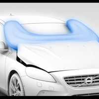 Volvo develops airbags to protect pedestrians