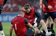 Concern for Schmidt as Dave Kilcoyne leaves Thomond on crutches