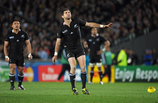Injury means All Black Stephen Donald will not be joining Ulster