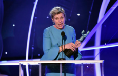 People are convinced that Frances McDormand subtly used her SAG speech to back Saoirse Ronan for the Oscar