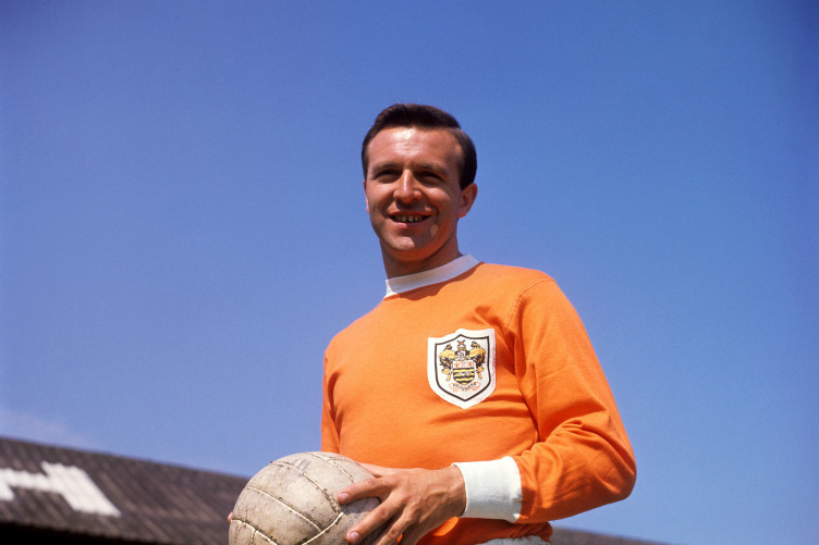 File photo dated 01-07-1963 of Jimmy Armfield, Blackpool.