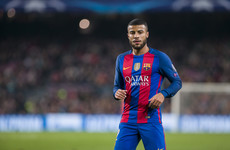 Barcelona loan Brazilian midfielder to Inter Milan