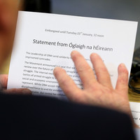 Dissident republican group Óglaigh na hÉireann confirms end to 'armed actions'