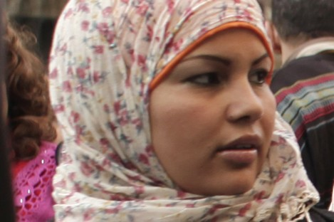 Egyptian activist Samira Ibrahim won a civilian court ruling last year that affirmed the tests were taking place at military jails