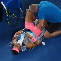 Injured Nadal retires on day of Aussie Open upsets